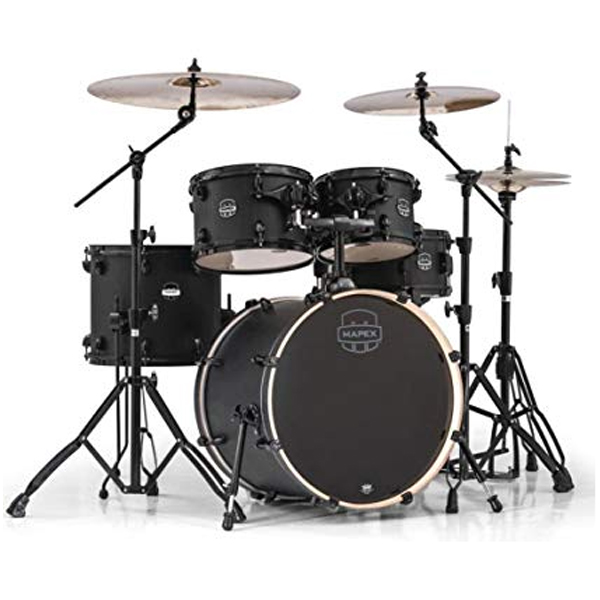 Акустическая ударная установка Mapex Mars Series 5 Piece Rock Shell Pack Nightwood MA504SFBZW