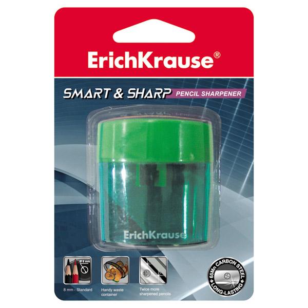 Пластиковая точилка, ErichKrause® 37395, Smart&Sharp