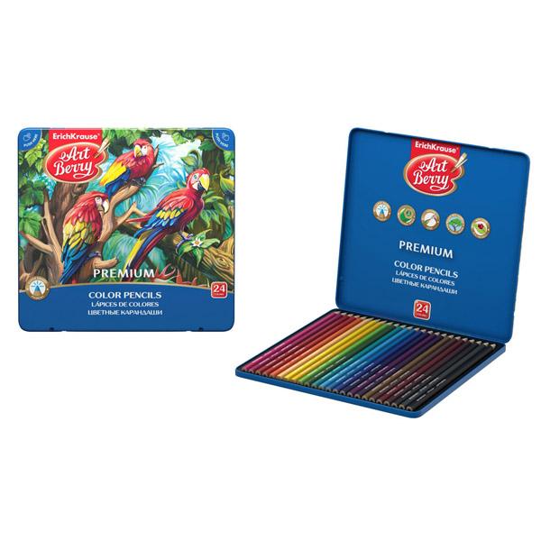 Коробка цветных карандашей шестигранных ArtBerry® 44631 Premium