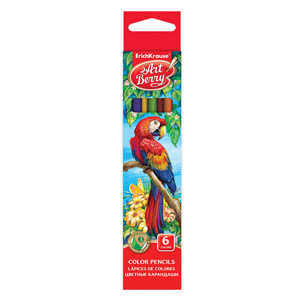 Коробка цветных карандашей трехгранных ArtBerry® 32478