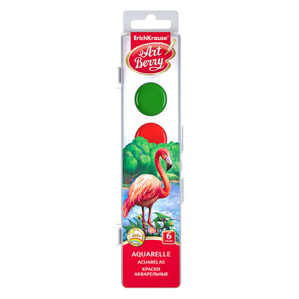 Коробка красок акварельных ArtBerry® 41723