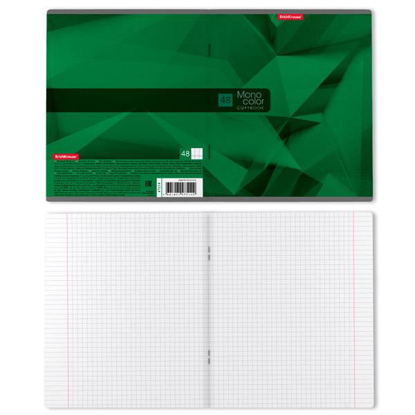 Тетрадь общая ErichKrause® 42631 MonoColor Next 48 листов клетка