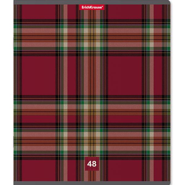 Тетрадь общая  ErichKrause® 42634, Scottish Cage, 48 листов, линейка