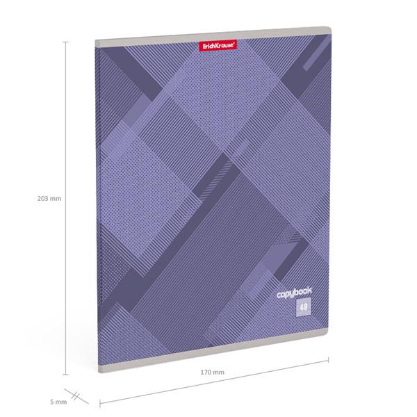 Тетрадь общая  ErichKrause® 35424 Soft Line 48 листов клетка