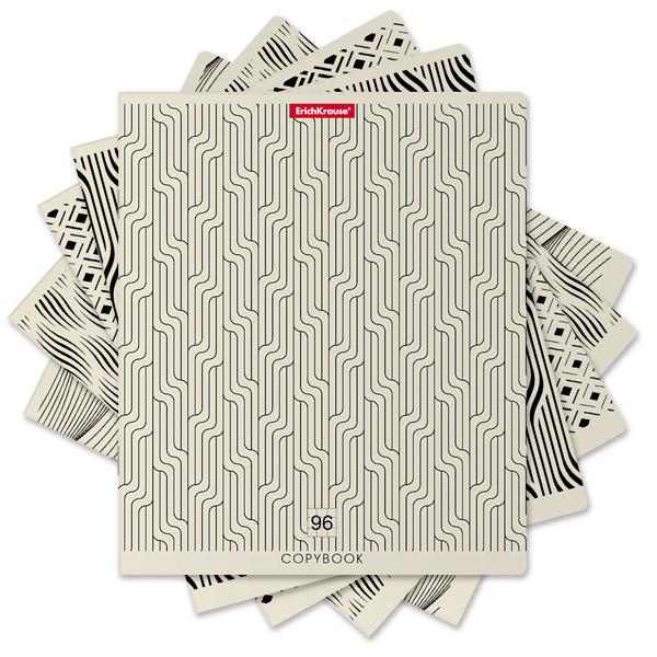 Тетрадь общая  ErichKrause® 42671, Иллюзия, 96 листов, клетка