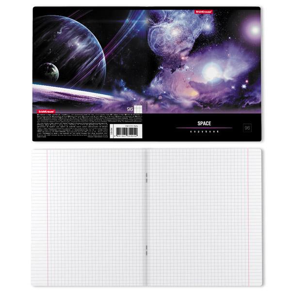 Тетрадь общая ErichKrause® 35494 Вселенная 96 листов клетка