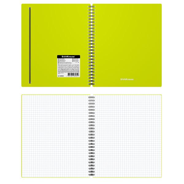 Тетрадь общая на спирали ErichKrause® 43535 Neon 80 листов клетка