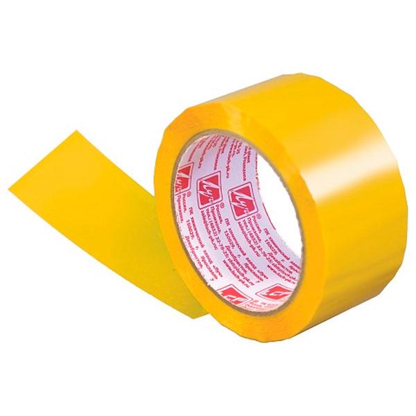 Лента липкая Луч 48мм*66м желтая