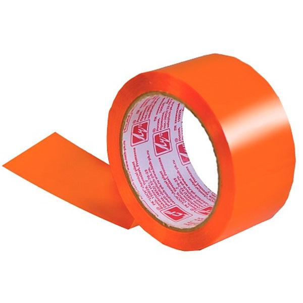 Лента липкая Луч 48мм*66м оранжевая