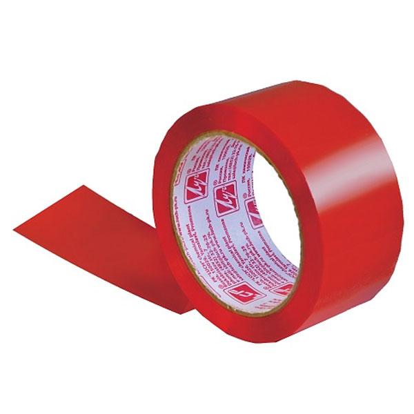 Лента липкая Луч 48мм*66м красная