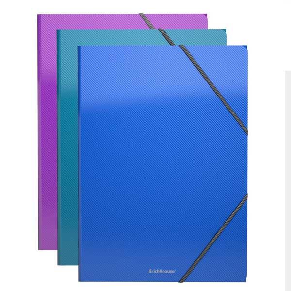 Папка на резинках пластиковая ErichKrause® 43398 Glance Vivid