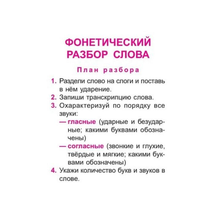 Русский язык. Все виды разборов. 1-4 классы. Стронская И. М.