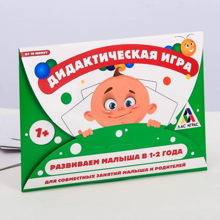 Развивающая дидактическая игра «Развиваем малыша в 1-2 года»