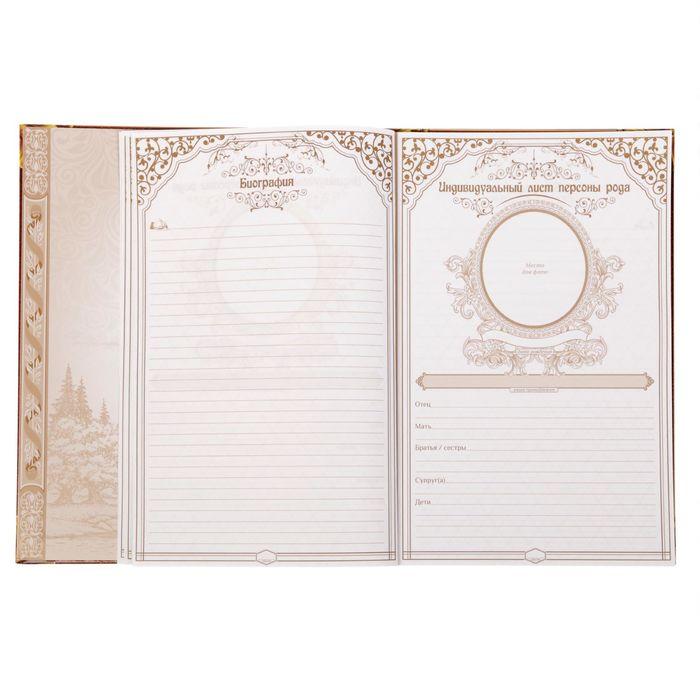 Родословная книга «Семейная летопись» Перо