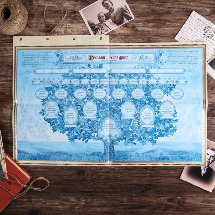 """Родословная книга """"Семейные истории"""", 25 х 31 см"""