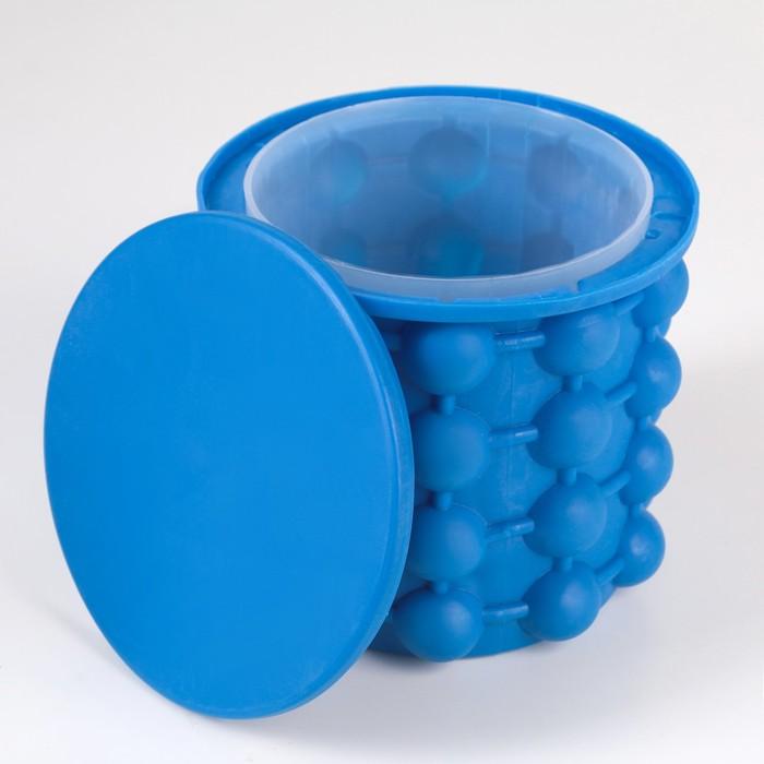 Емкость для охлаждения бутылок 13,5 х 13 см, цвет МИКС