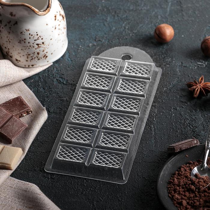 """Форма для шоколада 7×15×1 см """"Оригинальный"""""""