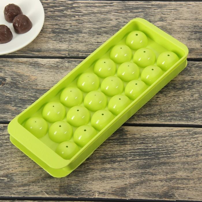 """Форма для льда и шоколада """"Шар"""", 20 ячеек"""
