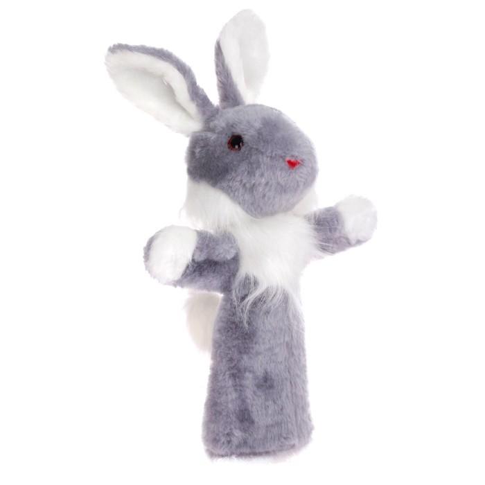 Мягкая игрушка на руку «Заяц Би-ба-бо»