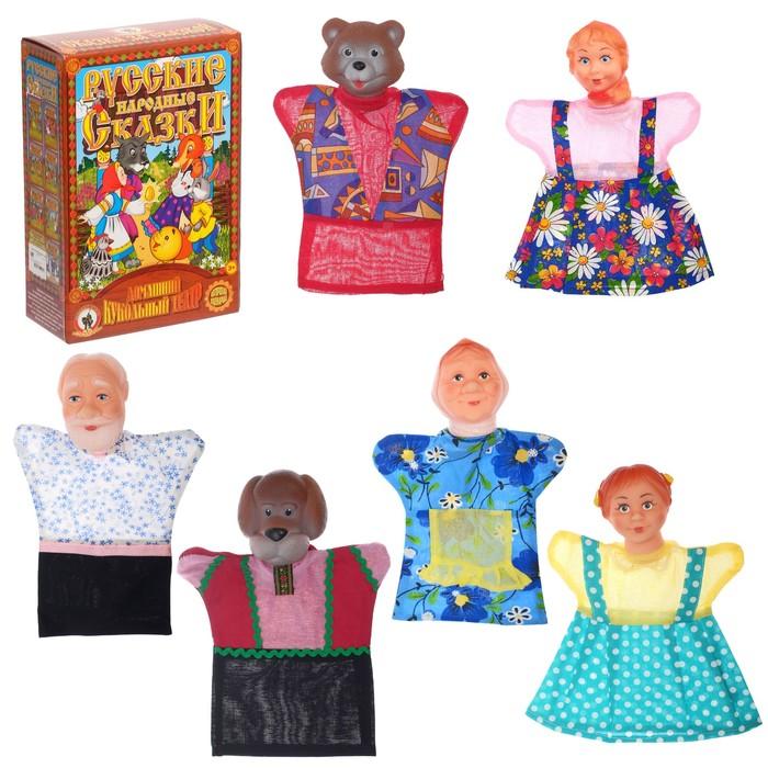 Кукольный театр «Маша и медведь» в новой упаковке