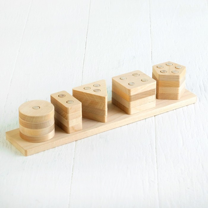 Геометрический сортер «Пирамидка»
