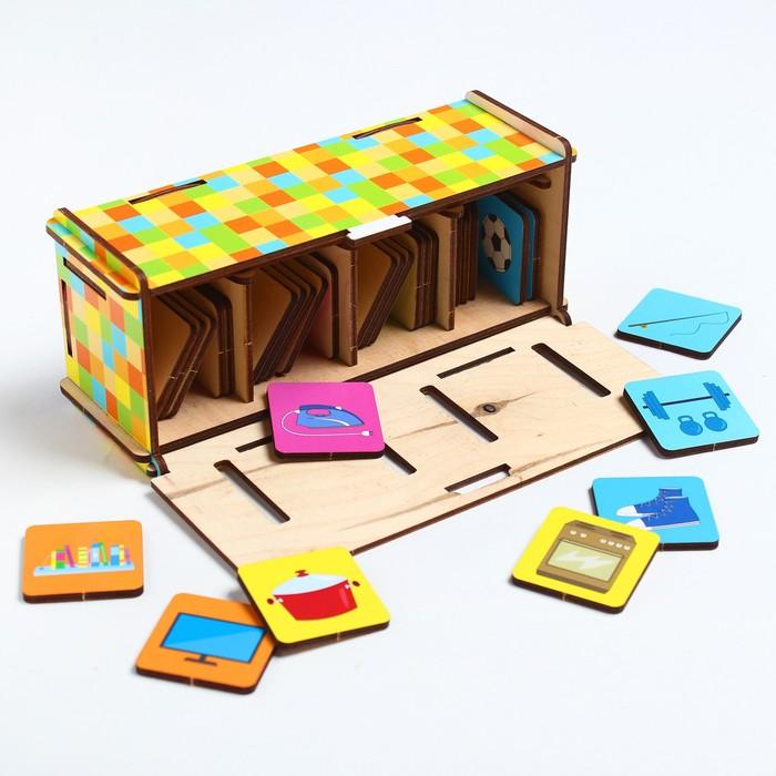 Развивающая игра «Сортер: Семейка»