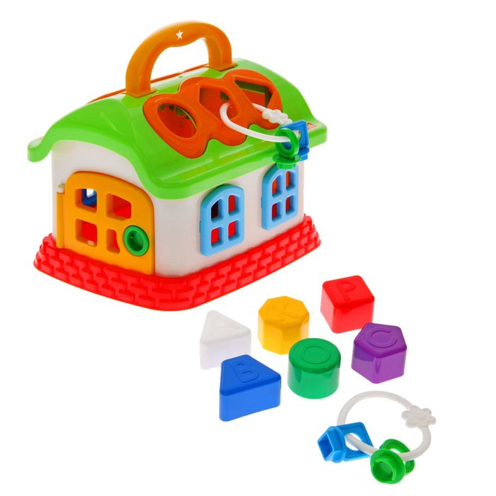 Развивающая игрушка «Сказочный домик» с сортером