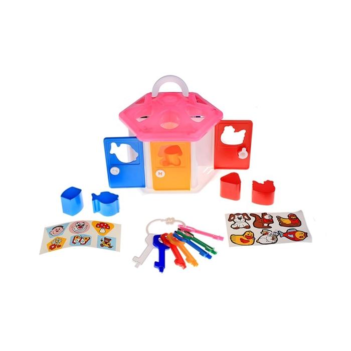 Развивающая игрушка «Логический домик» с сортером