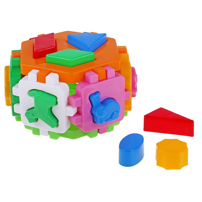 Куб «Умный малыш. Гексагон №1»