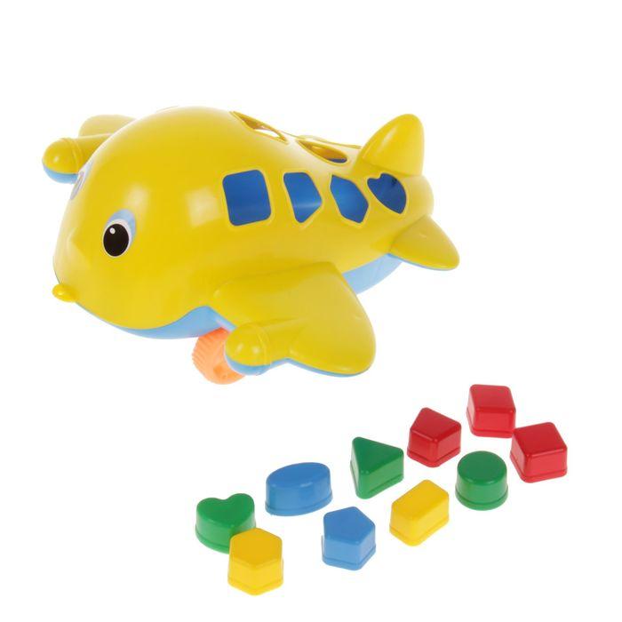 Развивающая игрушка «Самолёт Кит» с сортером