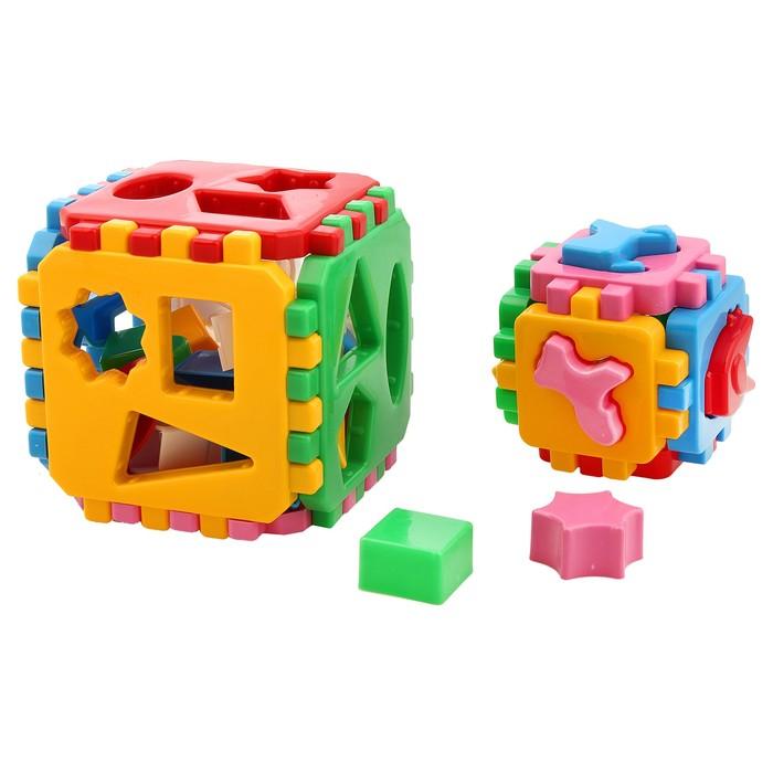 Развивающая игрушка-куб «Умный малыш 1+1», 36 элементов, МИКС