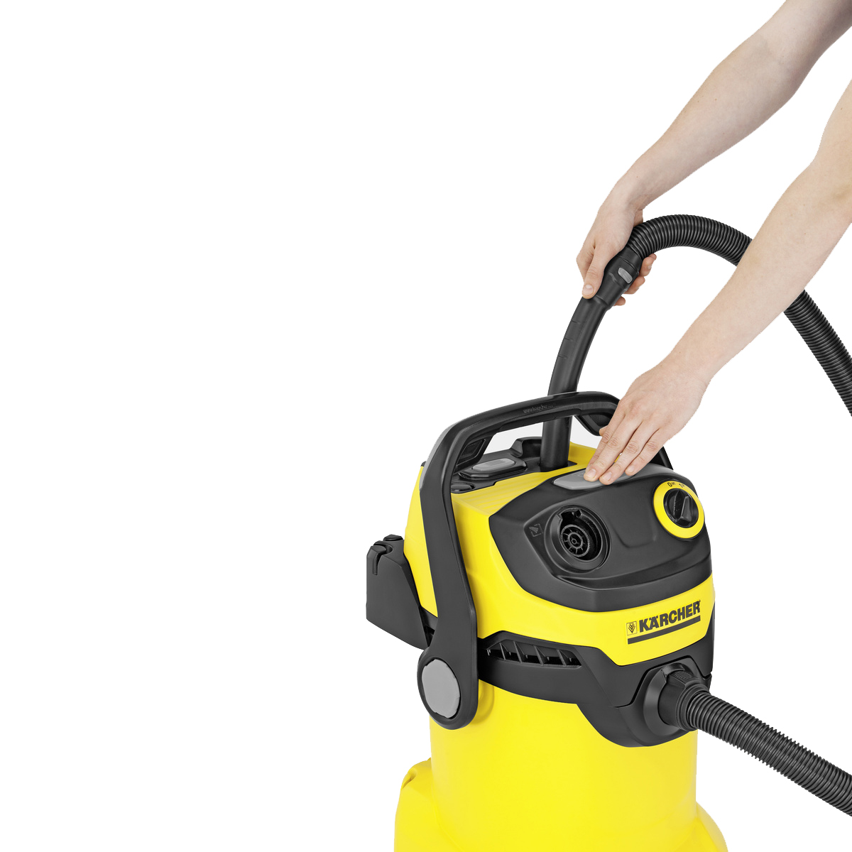 Пылесос для сухого и влажного мусора Karcher WD 5