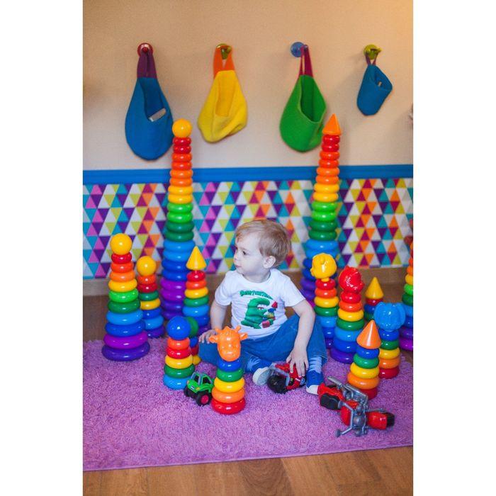 Пирамидка «Гигант», 20 колец с шаром