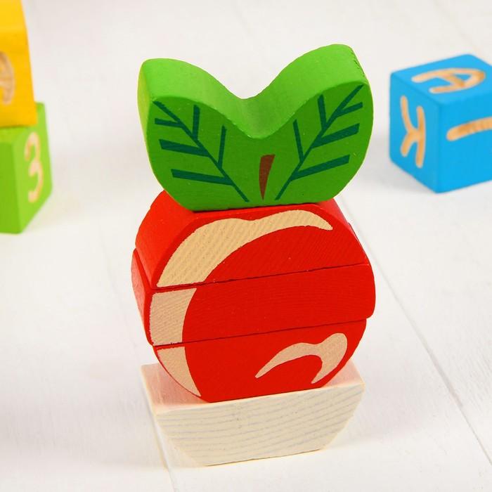 Пирамидка безосевая «Яблочко»