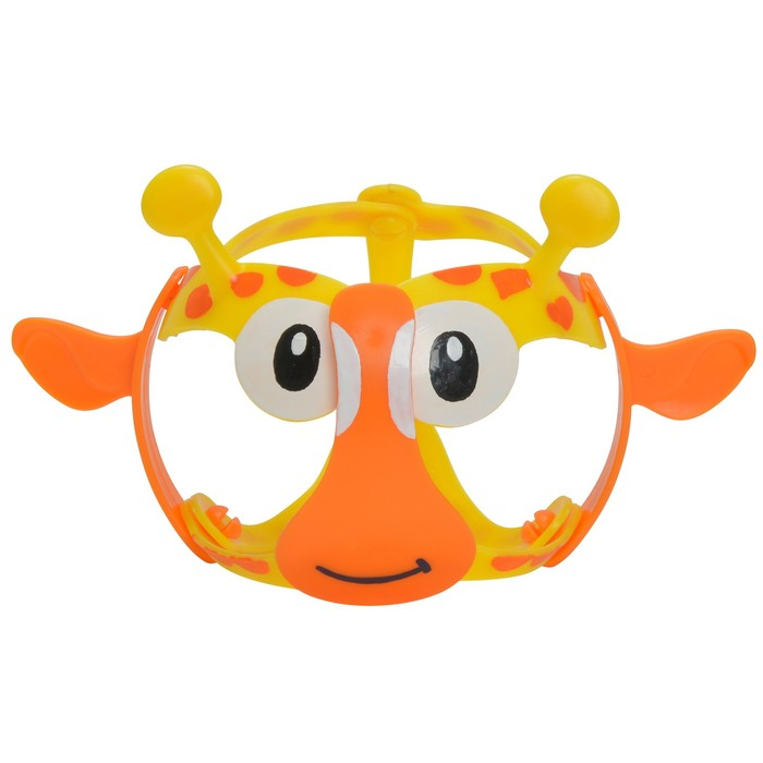 Игрушка стрейчевая «Жираф», 11 см