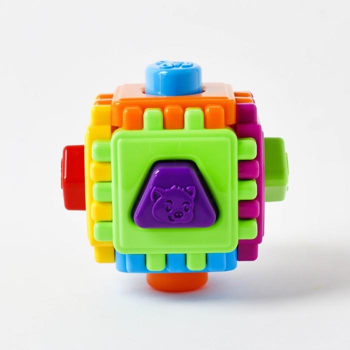 Развивающая игрушка Логический куб «Геометрик»
