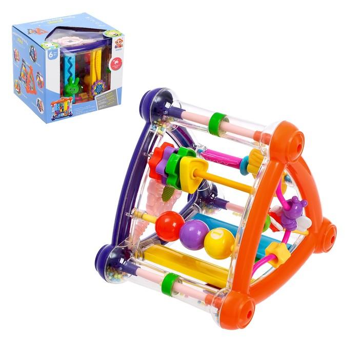 Развивающая игрушка «Забавный Куб»