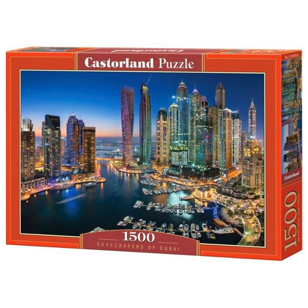 Пазлы Castorland Небоскребы Дубая, 1500 элементов