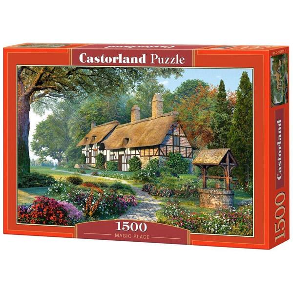 Пазлы Castorland Magic Place, 1500 элементов