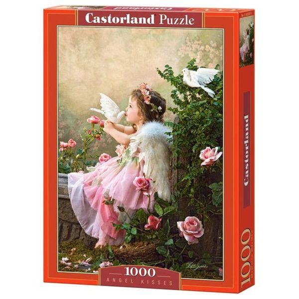 Пазлы Castorland Поцелуй Ангела, 1000 элементов