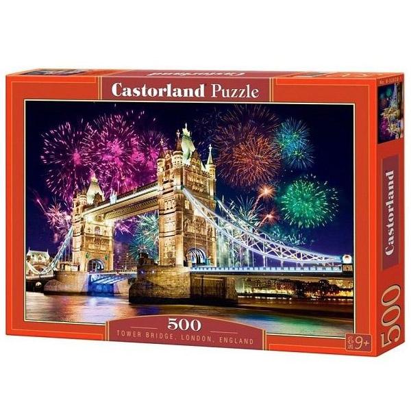 Пазлы Castorland Тауэрский мост, Англия, 500 элементов