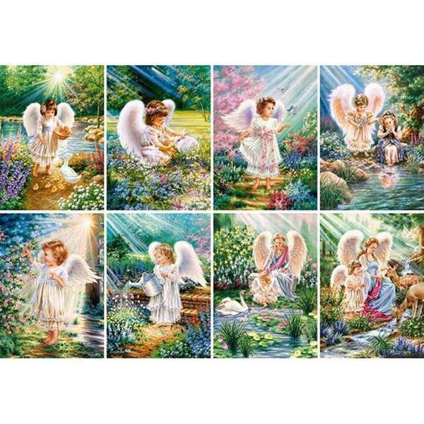 Пазлы Castorland Ангелы, 120 элементов