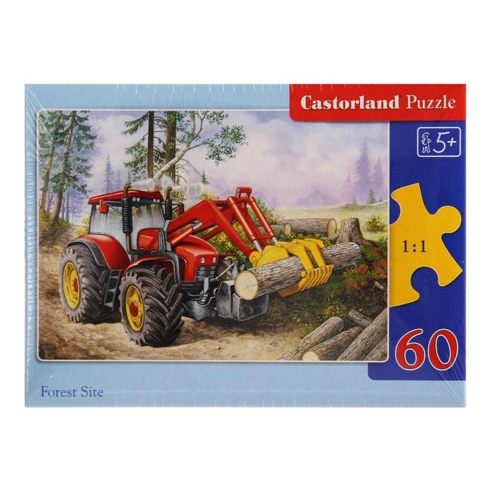 Миди-пазлы «Трактор», 60 элементов