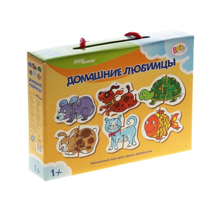 Напольный пазл-мозаика «Домашние любимцы» (Baby Step) (малые)