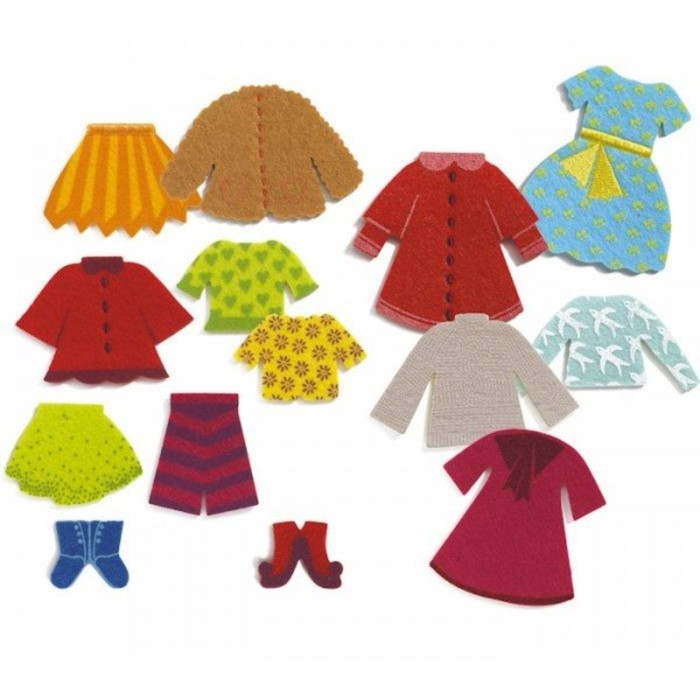 Пазл «Одежда для Клео»