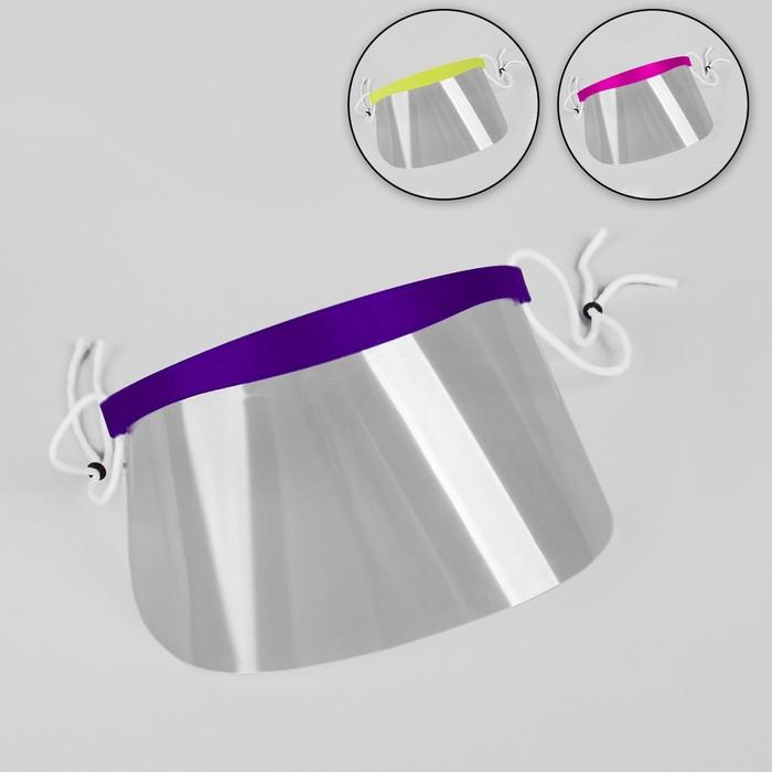 Маска для защиты лица при стрижке чёлки, сменные маски - 50 шт, 9 × 18,5 см
