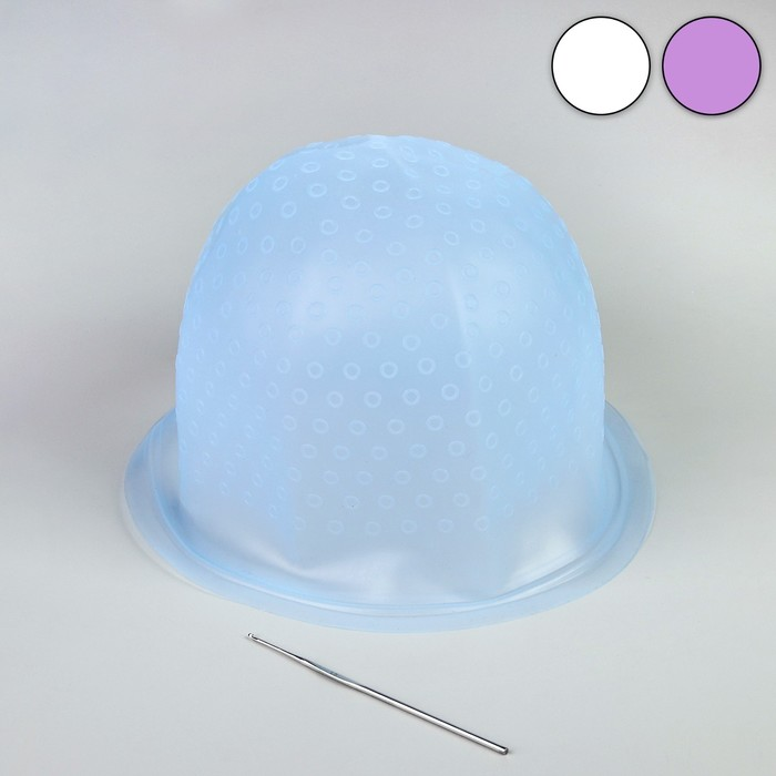Набор для мелирования, 2 предмета, цвет МИКС