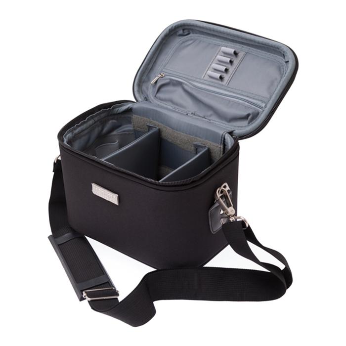 Кейс для парикмахерских инструментов Harizma, размер 23х15х18 см, цвет черный