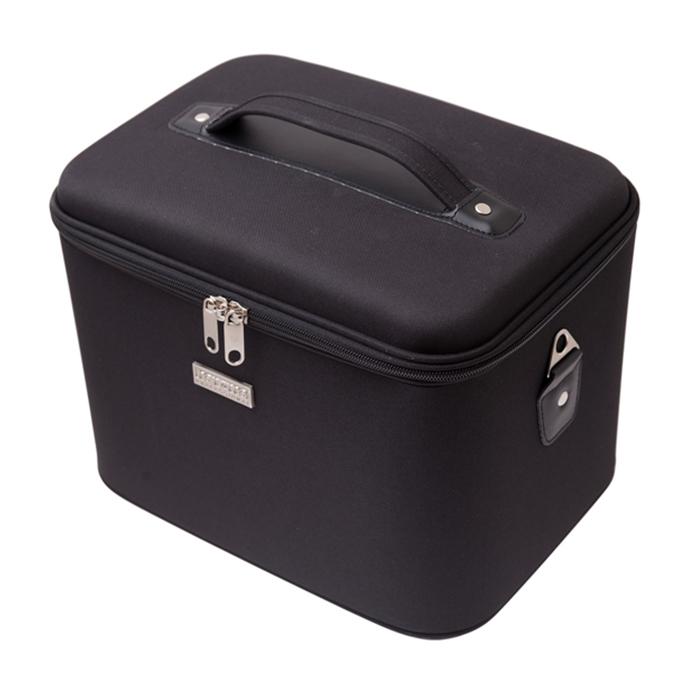 Кейс для парикмахерских инструментов Harizma, размер 33х22х27 см, цвет черный