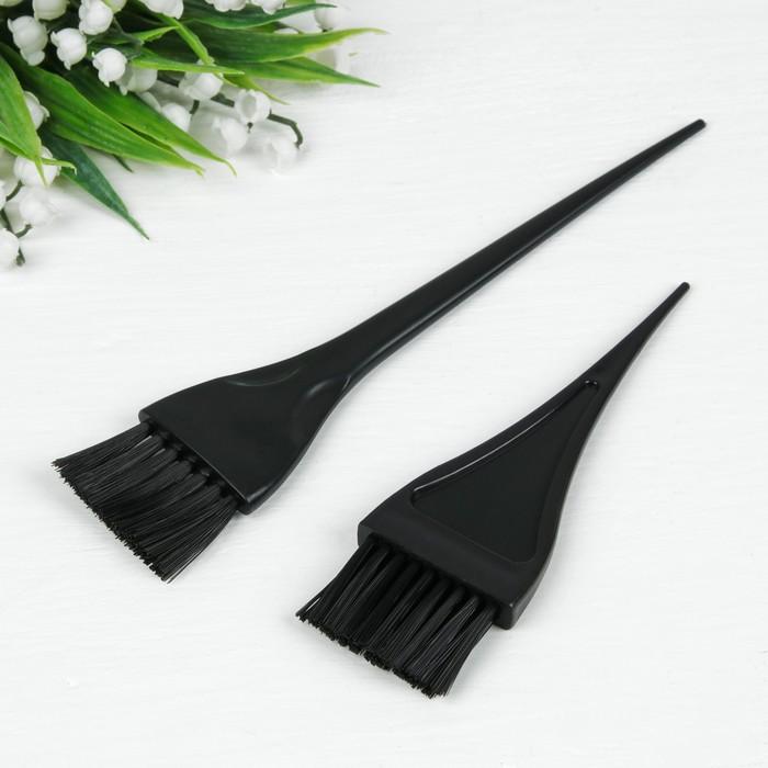 Набор для окрашивания, 2 предмета, цвет чёрный